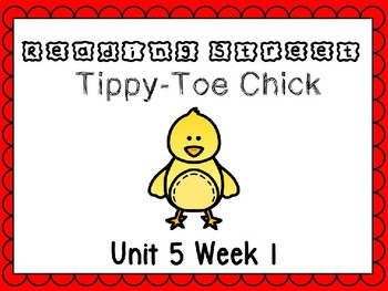 Unit 5 Week 1 Tippy Toe Chick PowerPoint Reading Street First Grade