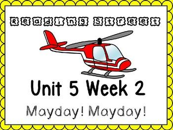 Unit 5 Week 2 Mayday Mayday PowerPoint Reading Street Kindergarten