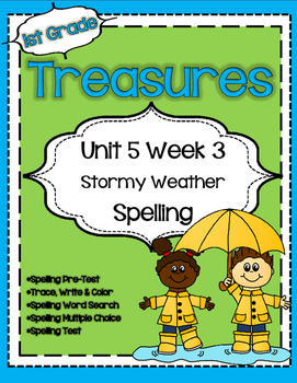 Unit 5 Week 3 Spelling for Treasures Reading Series