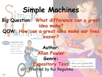Unit 5 Week 4 - Lesson - Simple Machines - Lesson Bundle (2013, 2011, and 2008)