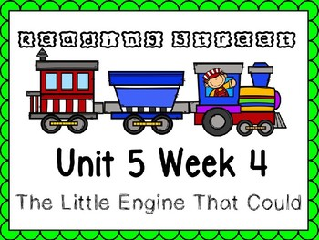 Unit 5 Week 4 Power Point The Little Engine That Could. Reading Street