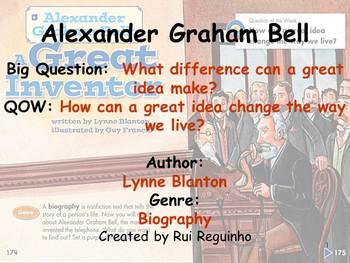Unit 5 Week 5 - Lesson - Alexander Graham Bell - Lesson Bundle (2013, 2011,2008)