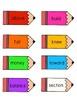 Reading Wonders Unit 5 Week 5 Pencil Pairs ***with 72 BONU