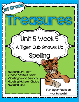 Unit 5 Week 5 Spelling for Treasures Reading Series