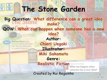 Unit 5 Week 6 - Lesson - The Stone Garden- Lesson Bundle (2013 & 2011 Only)