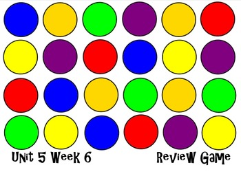 Unit 5 Week 6. The Stone Garden. Smart Board Review Game. Reading Street