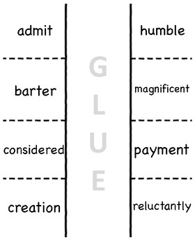Unit 5 Wonders Vocabulary Foldable (3rd)