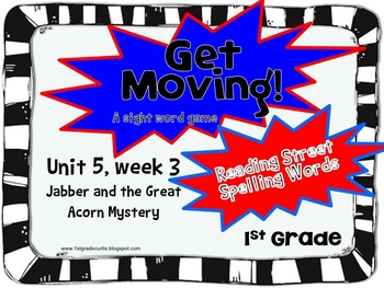 Get Moving!: 5 week 3: Jabber and the Great Acorn Mystery