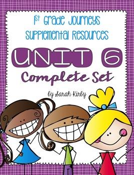 Unit 6 - 1st Grade Journeys Supplemental Resources