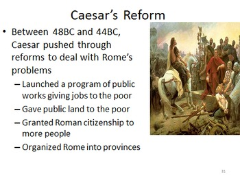 Unit 6: Ancient Rome (World History/Global 9 Ch 6)