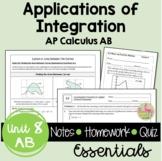 Applications of Integration Essentials (Calculus - Unit 6)