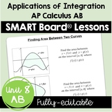 Applications of Integration SMART Board® Lessons (Calculus