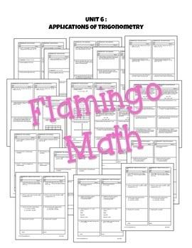 Applications of Trigonometry Activities & Assessments (PreCalculus - Unit 6)