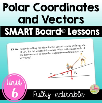 PreCalculus Applications of Trigonometry SMARTBOARD Lessons Bundle