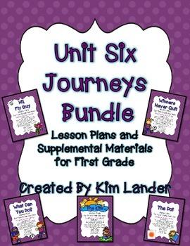 Unit 6 Bundle Journeys First Grade