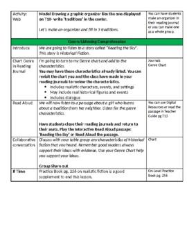 Unit 6 Bundle Lesson Plans- Wonders Reading 4th Grade Weeks 1-5