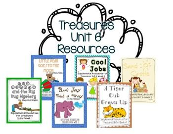 Unit 6 Bundle Pack-Supplemental Resources for Treasures Fi