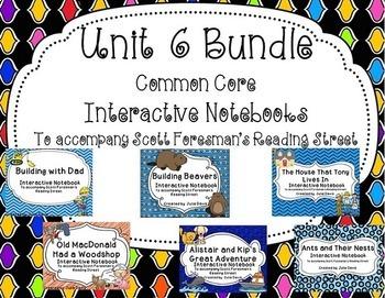 Unit 6 Bundle Common Core Interactive Notebook Journal