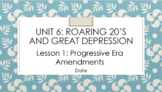 Unit 6 Bundle - The Roaring Twenties and the Great Depression