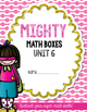 Unit 6 Challenge Math Boxes for Everyday Math 4,1st grade