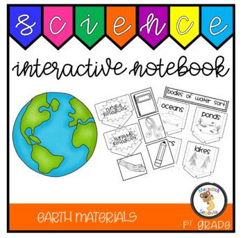 Earth Materials (1st Grade Notebook)
