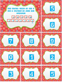 Unit 6 Everyday Math activities for math centers