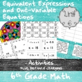 Unit 6 - Expressions and One-Step Equations - Activities - 6th Grade Math TEKS