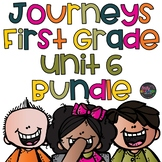 Unit 6 Journeys First Grade Bundle Supplement Activities