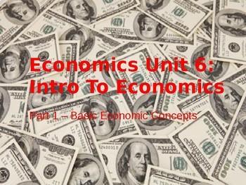 Unit 6 Bundle -- Free Markets