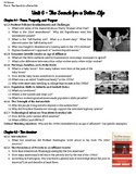 Unit 6 Guided Reading Questions - The Search for a Better Life