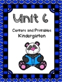Unit 6, Kindergarten, Centers and Printables, Reading Street