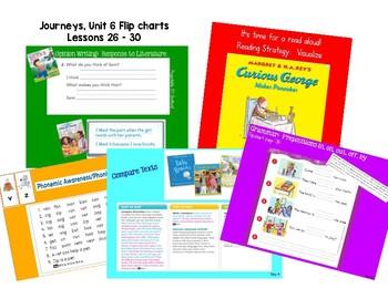 Unit 6 Kindergarten Journeys Flip Charts