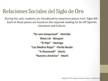 Unit 6 - Lecturas del Siglo XIX AP Spanish Literature and Culture