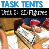 Task Tents™ - Math Edition {5th Grade Unit 5}
