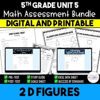 2D Figures Math Resources *5th* {Unit 5}