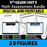 2D Figures Math Resource Bundle *5th Grade* {Unit 5}