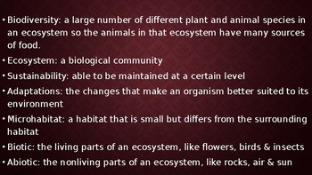 Unit 6 Organisms and Their Environment