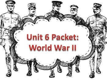 Unit 6 Packet- World War II