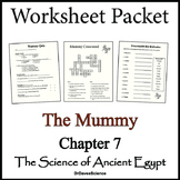 The Mummy Worksheet Packet