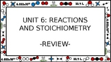 Unit 6 Reactions and Stoichiometry Wall Walk Review Game