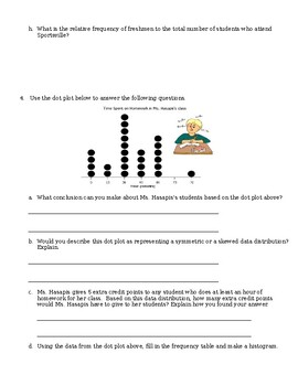 Unit 6 Review - Measures of Central Tendency