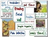 Focus Wall Texas Treasures Unit 6 Second Grade