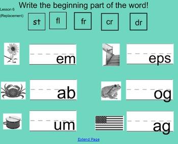ELA Common Core Unit 6 SmartBoard Activities (and alternatives)