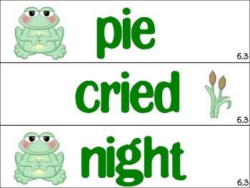 Unit 6 Spelling Word Cards Journeys Grade 1