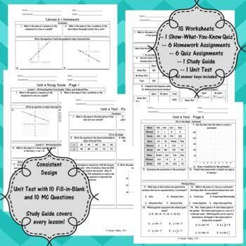 Unit 6 - Statistics with Bivariate Data - Worksheets - 8th Grade Math TEKS