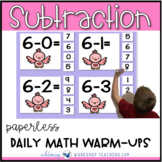 Unit 6 Subtraction Strategies - 100+ First Grade Paperless or Printable Lessons