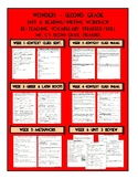 Unit 6 Wonders 2nd Grade Weekly Skill Re-Teaching Page (CA 2017)