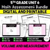 Volume and Measurement Math Resource Bundle *5th Grade* {Unit 6}