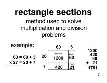 Unit 7 Multiplication/Division Strategies Vocabulary (Math Expressions, Grade 5)
