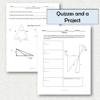 Geometry Unit 7 Similar Triangles and Right Triangle